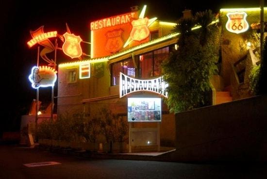 route 66 steakhouse Montpellier Saint Clément de Rivière